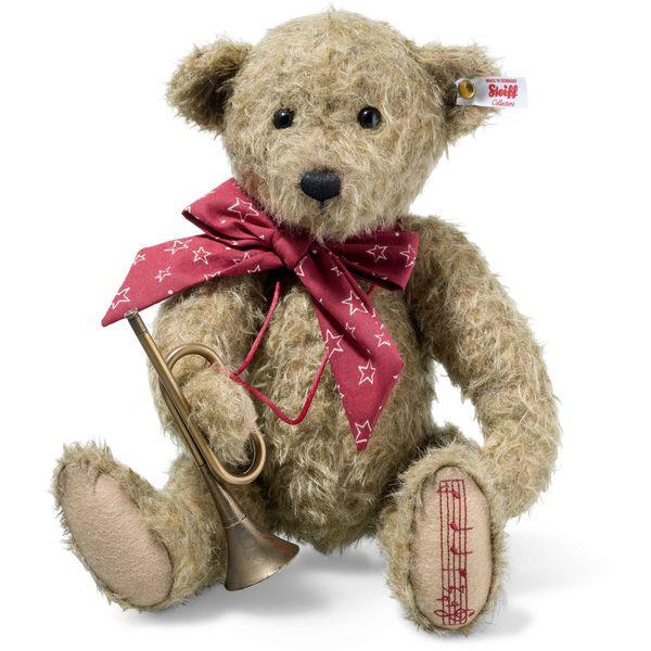 Steiff 006388 Anton Teddybär, Mohair, 37 cm, antikbeige