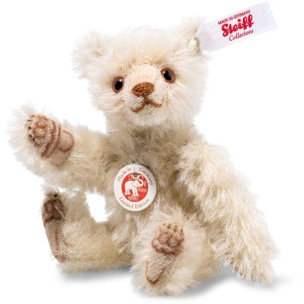 Steiff 006449 Dicky Mini Teddybär, Mohair, 10 cm, blond