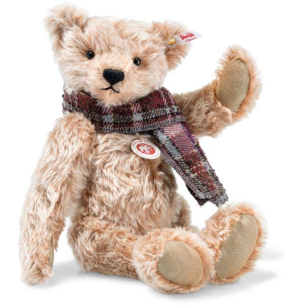 Steiff 006623 Willy Teddybär, Mohair, 33 cm, zimt gespitzt