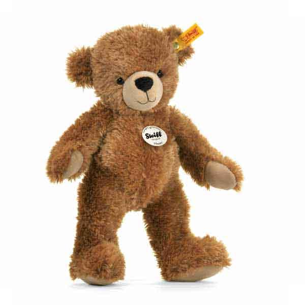 Steiff 012617 Happy Teddybär, 40 cm, Plüsch, hellbraun