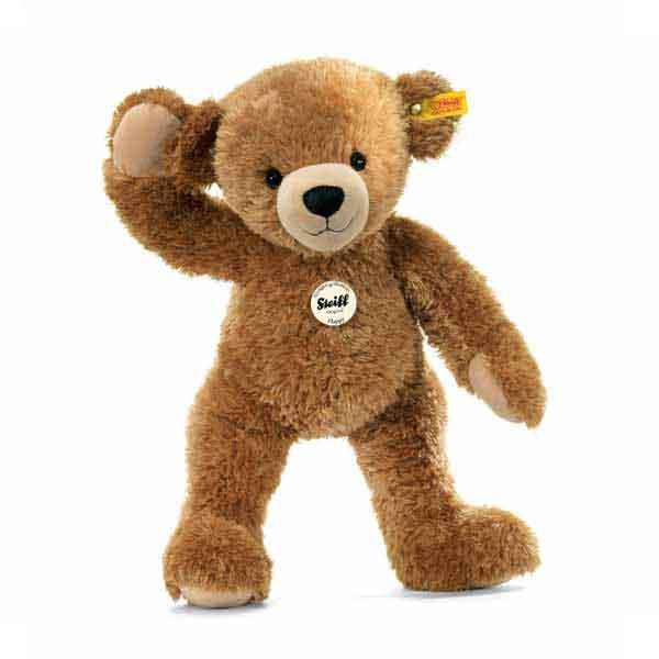Steiff 012662 Happy Teddybär, 28 cm, Plüsch, hellbraun