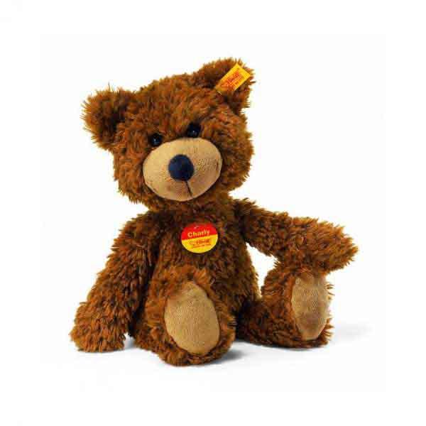 Steiff 012891 CHARLY Schlenker-Teddybär, 23 cm