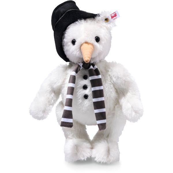 Steiff 021718 Monty Schneemann Ted, Mohair, 30 cm, weiß
