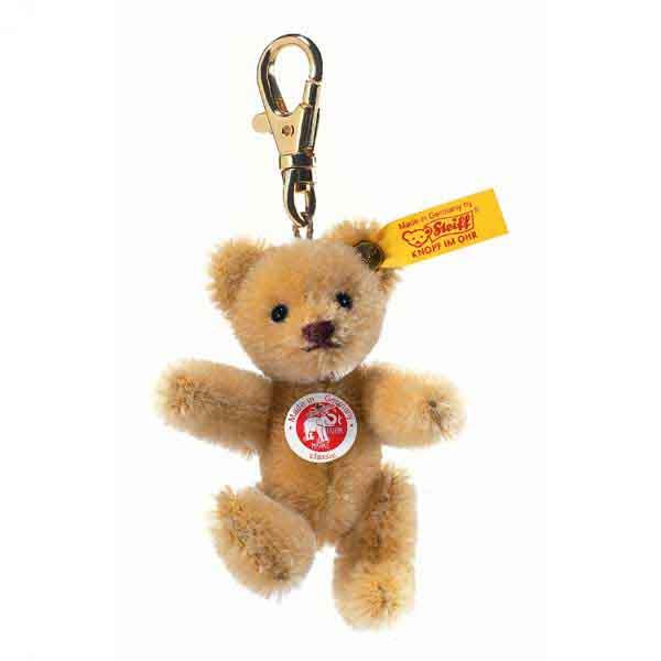 Steiff 039089 Mini Teddybär Schlüsselanhänger Mohair, 8 cm