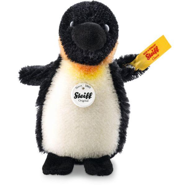 Steiff 040740 Lari Pinguin, Mohair, 10 cm, schwarz/weiß