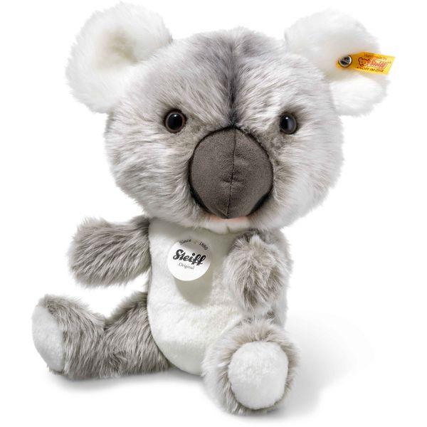 Steiff 060045 Jan Koala, Plüsch, 22 cm, grau/weiß