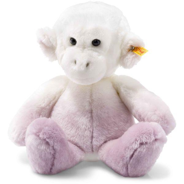 Steiff 060243 Soft Cuddly Friends Moonlight Affe, Plüsch, 30 cm, lila/weiß