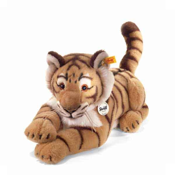 Steiff 064463 Radjah Tiger, 45 cm, liegend