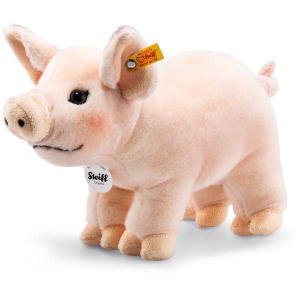 Steiff 071904 Piggy Schwein, Webpelz, 30 cm, rosa