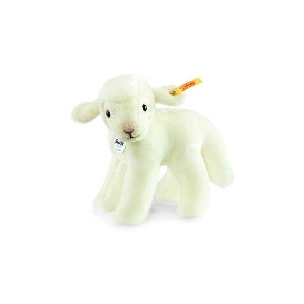 Steiff 073397 Linda Lamm, 16 cm, Plüsch, weiß, stehend