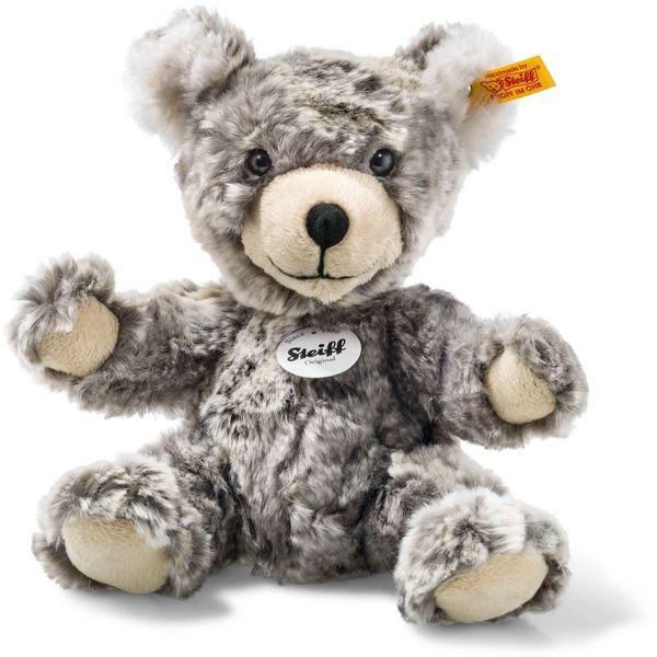 Steiff 109928 Lommy Teddybär, Plüsch, 25 cm, grau/beige