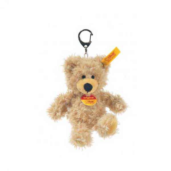 Steiff 111884 Schlüsselanhänger CHARLY Teddybär, 12 cm