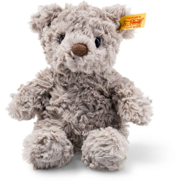 Steiff 113413 Soft Cuddly Friends Honey Teddybär, Plüsch, 18 cm, grau