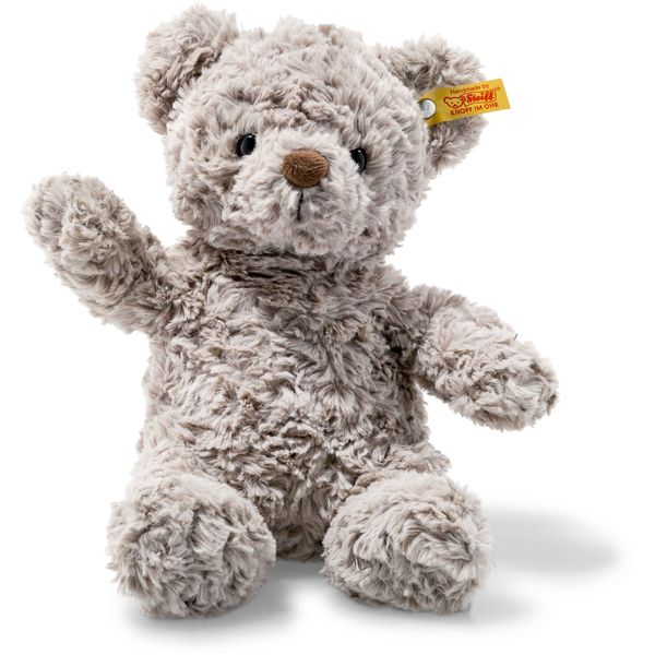 Steiff 113420 Soft Cuddly Friends Honey Teddybär, Plüsch, 28 cm, grau