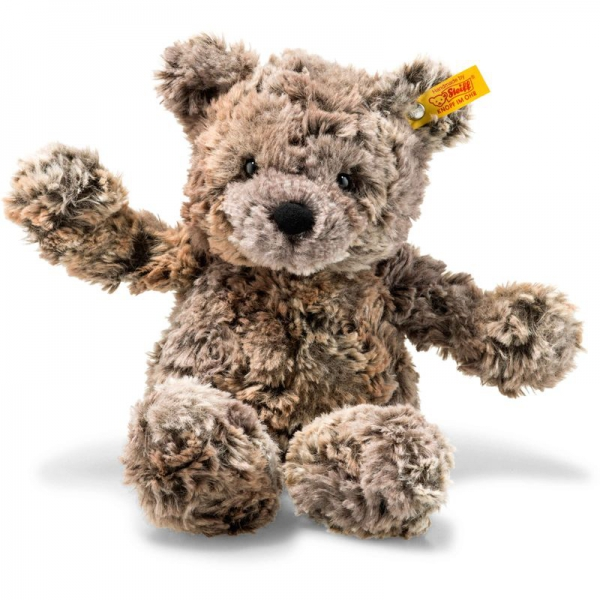 Steiff 113451 Soft Cuddly Friends Terry Teddybär, Plüsch, 30 cm, braun meliert