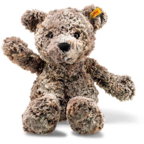 Steiff 113468 Soft Cuddly Friends Terry Teddybär, Plüsch, 45 cm, braun meliert