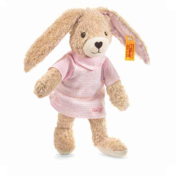 Steiff 237577 Hoppel Hase, 20 cm, rosa