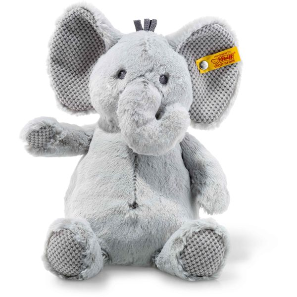 Steiff 240539 Soft Cuddly Friends Ellie Elefant, Plüsch, 28 cm, grau