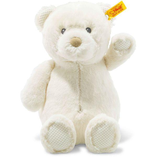 Steiff 240584 Soft Cuddly Friends Giggles Teddybär, Plüsch, 28 cm, creme