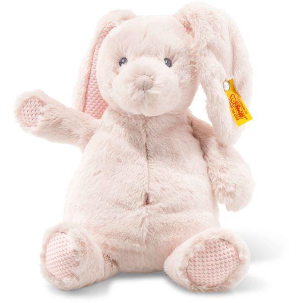 Steiff 240706 Soft Cuddly Friends Belly Hase, Plüsch, 28 cm, rose