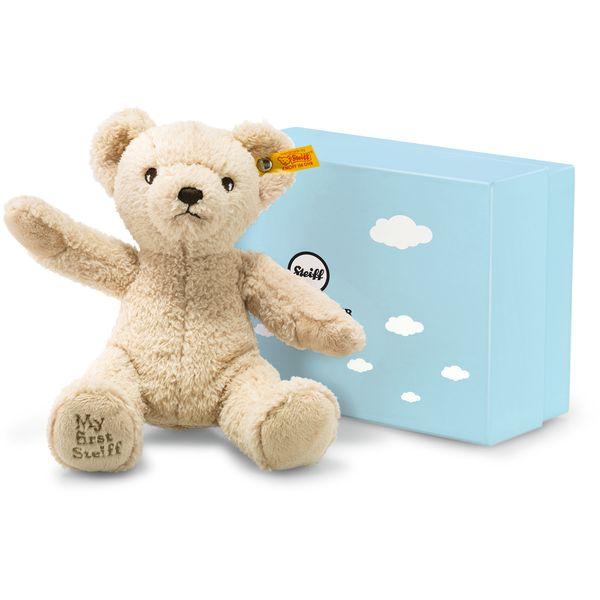 Steiff 241383 My first Steiff Teddybär in Geschenkbox, Plüsch, 24 cm, beige