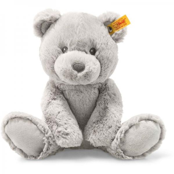 Steiff 241543 Soft Cuddly Friends Bearzy Teddybär, Plüsch, 28 cm, grau