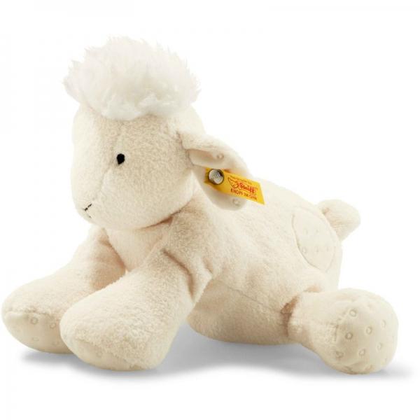 Steiff 241581 Soft Cuddly Friends Lola Schaf, Plüsch, 22 cm, creme