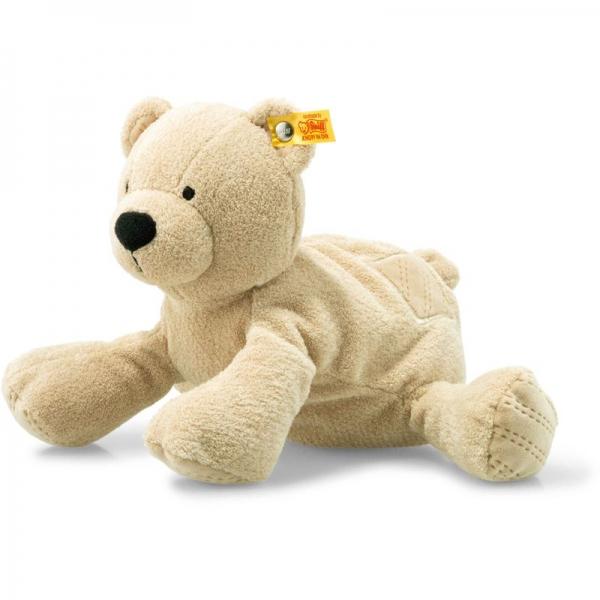 Steiff 241604 Soft Cuddly Friends Luca Teddybär, Plüsch, 22 cm, beige