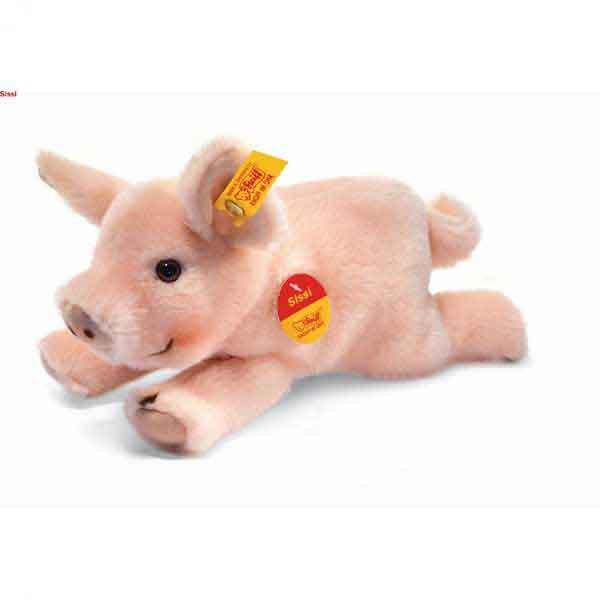 Steiff 280016 Steiffs kleiner Freund Schwein Sissi, 22 cm