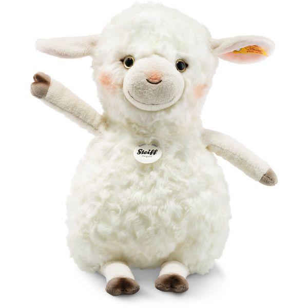 Steiff 283024 Happy Farm Lambaloo Lamm, Plüsch, 35 cm, creme
