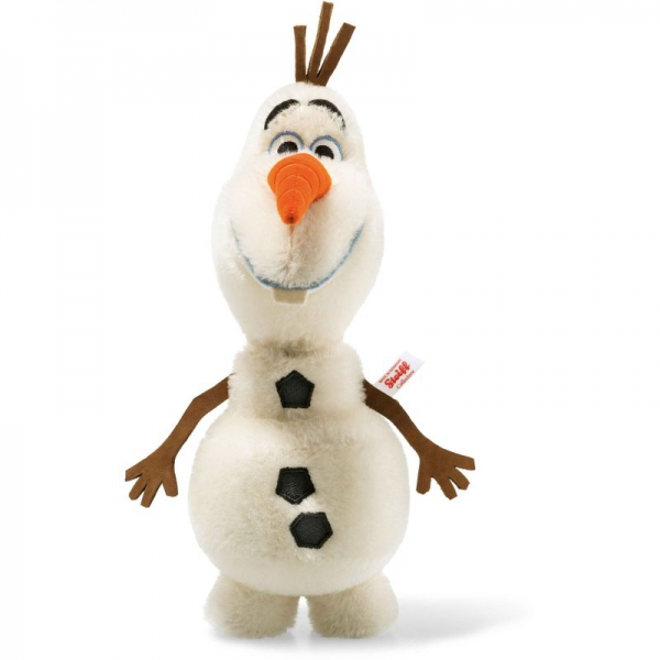 Steiff 354571 Disney Frozen Olaf, Mohair, 28 cm, weiß