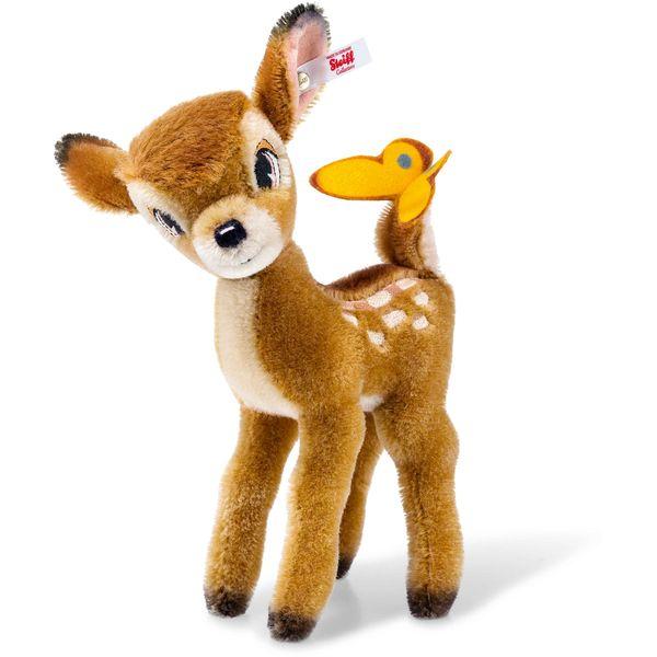 Steiff 354656 Disney Bambi, Mohair, 20 cm, hellbraun