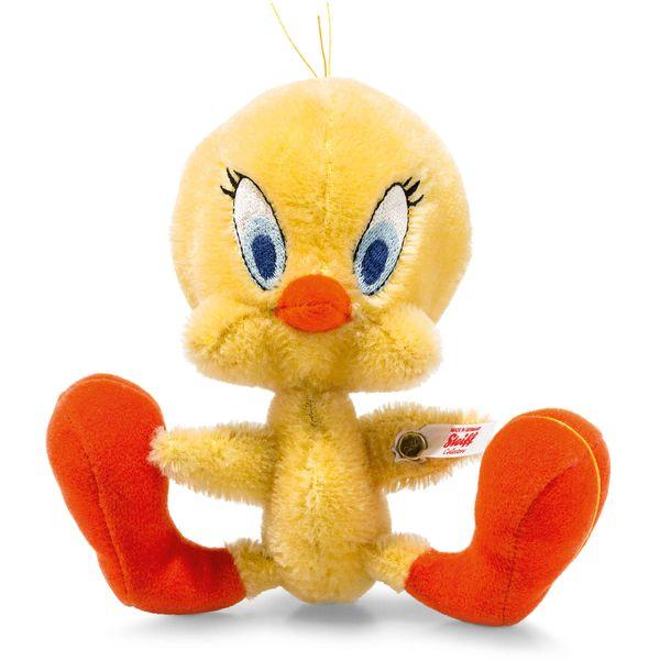 Steiff 354670 Tweety, Mohair, 16 cm, gelb/orange