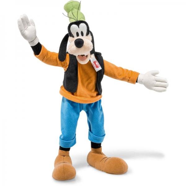 Steiff 355011 Disney Goofy, Mohair, 36 cm, bunt