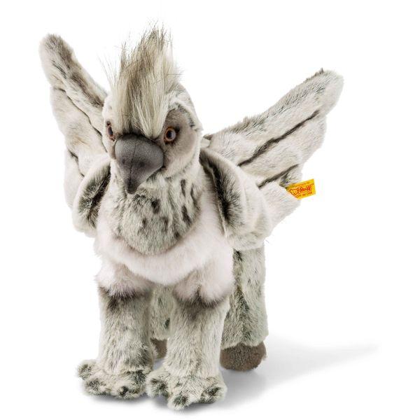 Steiff 355073 Buckbeak, Plüsch, 31 cm, grau/beige