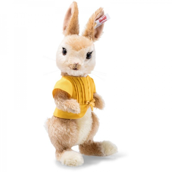 Steiff 355196 Mopsy Bunny, Mohair, 25 cm, blond/creme