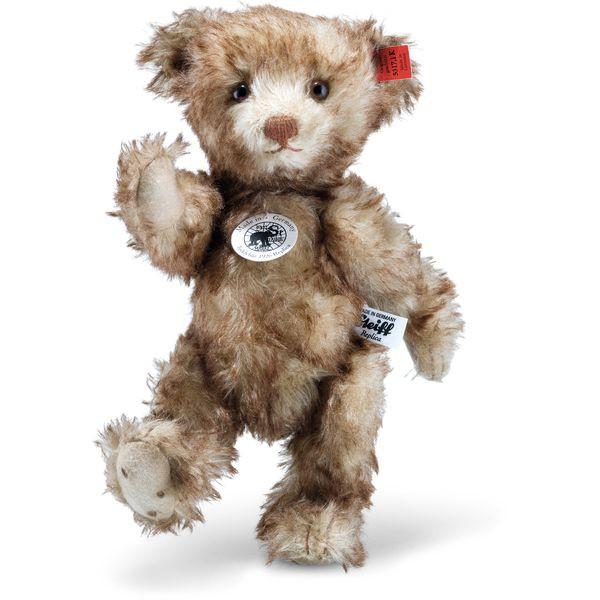 "Steiff 403217 ""Little Happy"" Teddybär 1926 Replica, Mohair, 25 cm, braun gespitzt"
