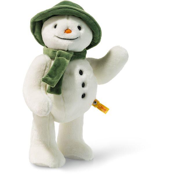 Steiff 690174 The Snowman TM, Plüsch, 35 cm, weiß