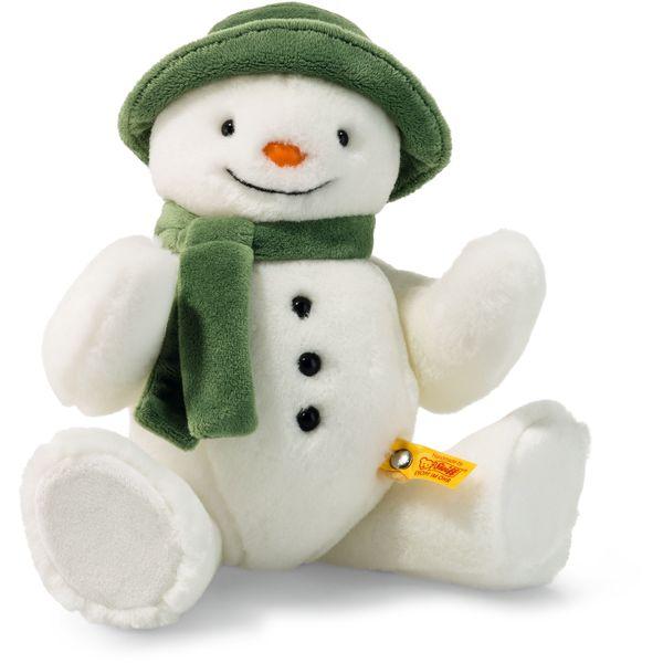 Steiff 690181 The Snowman TM, Plüsch, 27 cm, weiß
