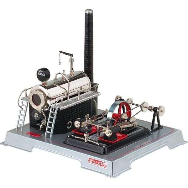 Wilesco D 22 Zweizylinder-Dampfmaschine
