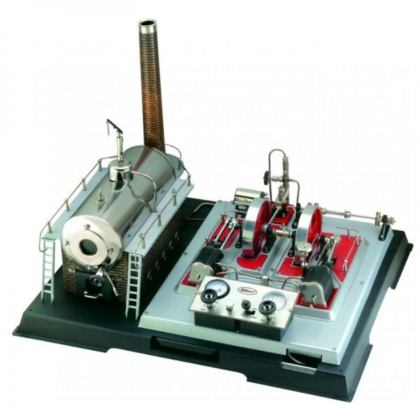 Wilesco Dampfmaschine elektrisch D 32