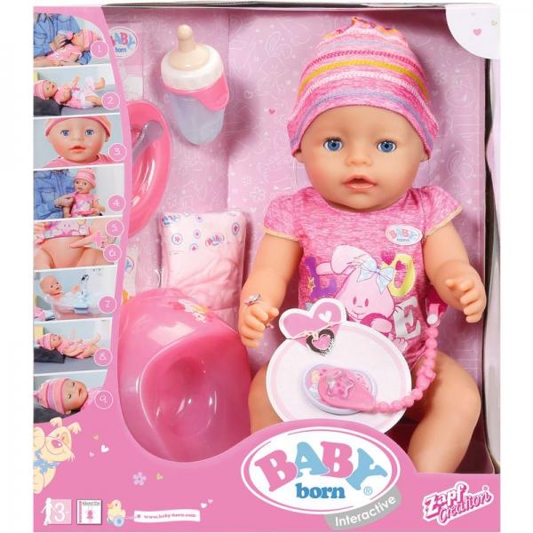 Zapf 822005 - BABY born® Interactive