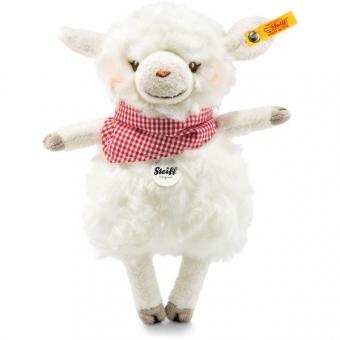 Steiff 103094 Happy Farm Mini Lambaloo Lamm, Plüsch, 18 cm, creme