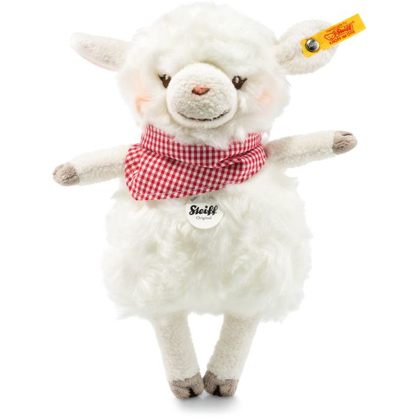 Steiff 103094 Happy Farm Mini Lambaloo Lamm, Plüsch, 18 cm, creme