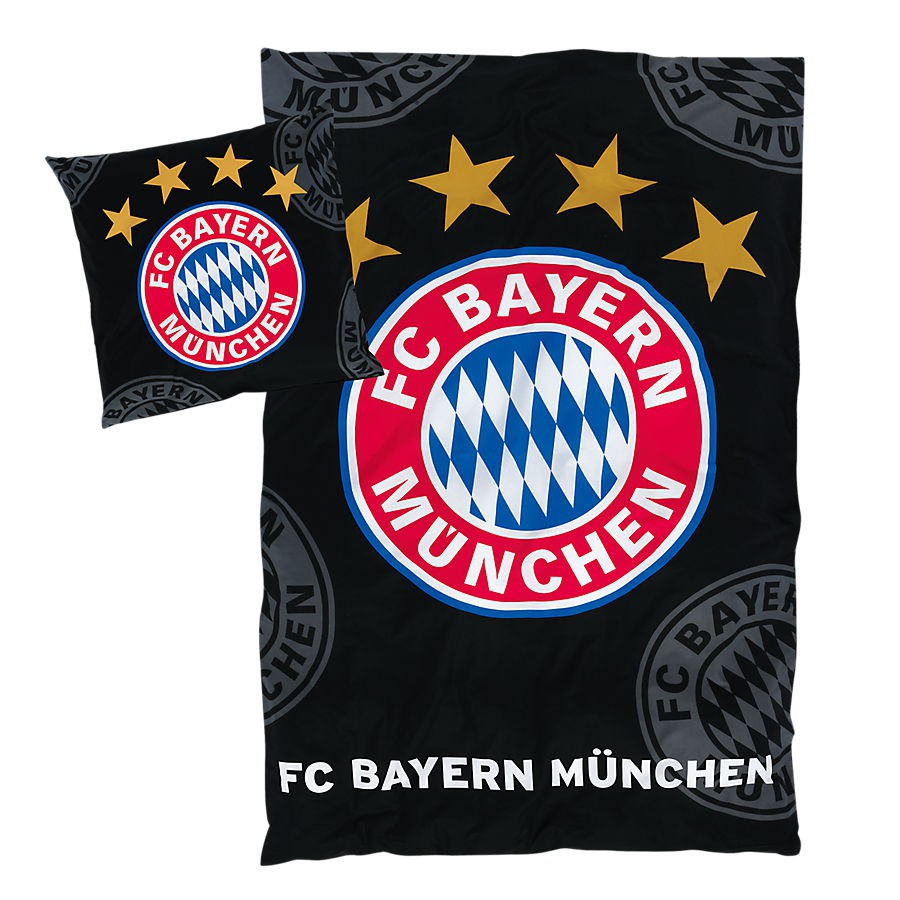 Fc Bayern Bettwäsche : fc bayern m nchen bettw sche logo bayern m nchen ~ Watch28wear.com Haus und Dekorationen