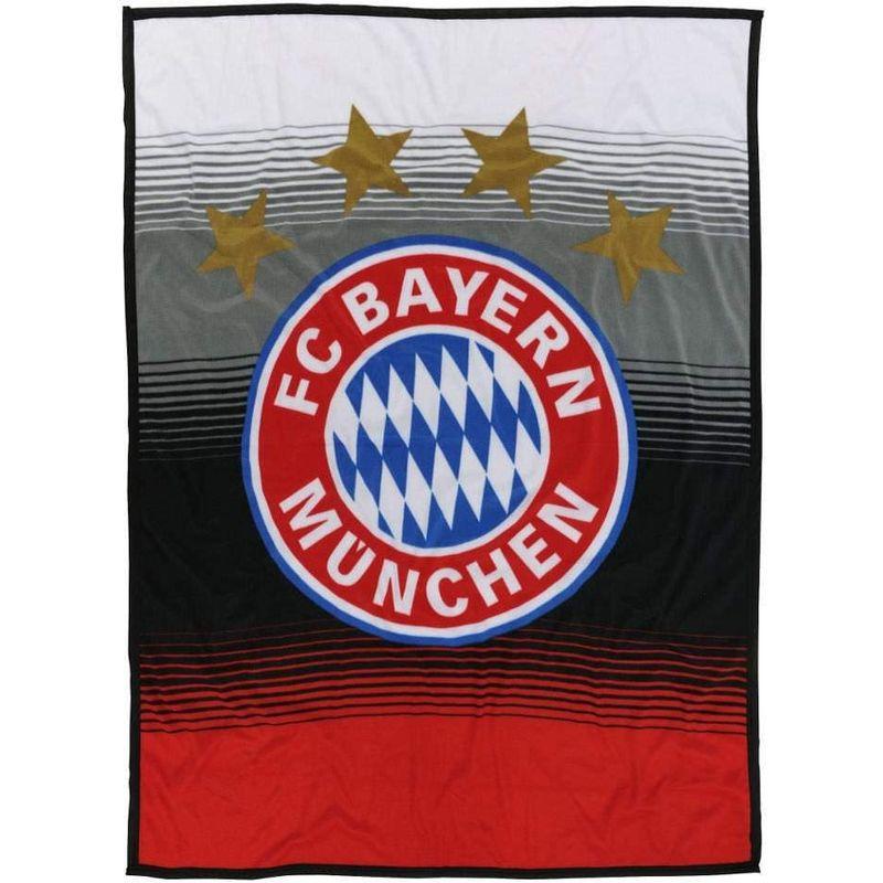 FC Bayern M/ünchen Kuschelfleecedecke rot//wei/ß