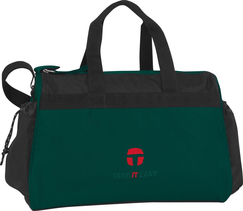 take it easy sporttasche berlin combi dark green black. Black Bedroom Furniture Sets. Home Design Ideas