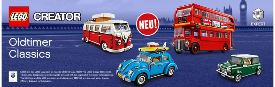 LEGO Fahrzeugkampagne 2018